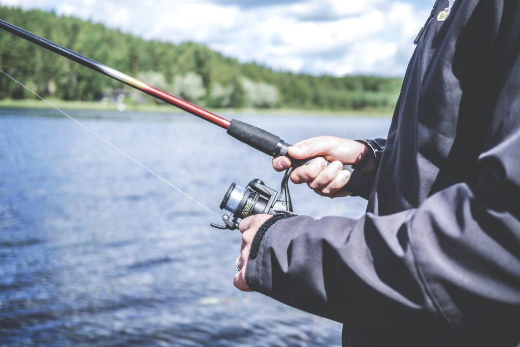 Fischen am Höllerersee